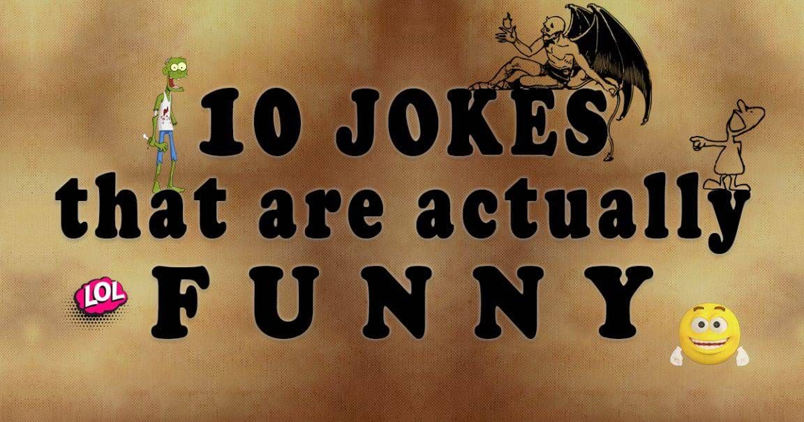 Image to 10 Jokes that are actually funny
