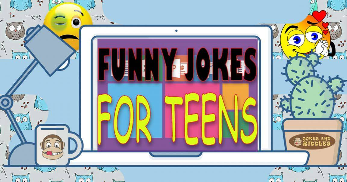 Image for Funny jokes for teens