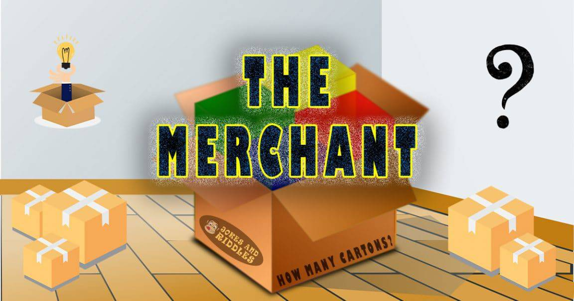 """Image to the riddle """"The merchant"""""""