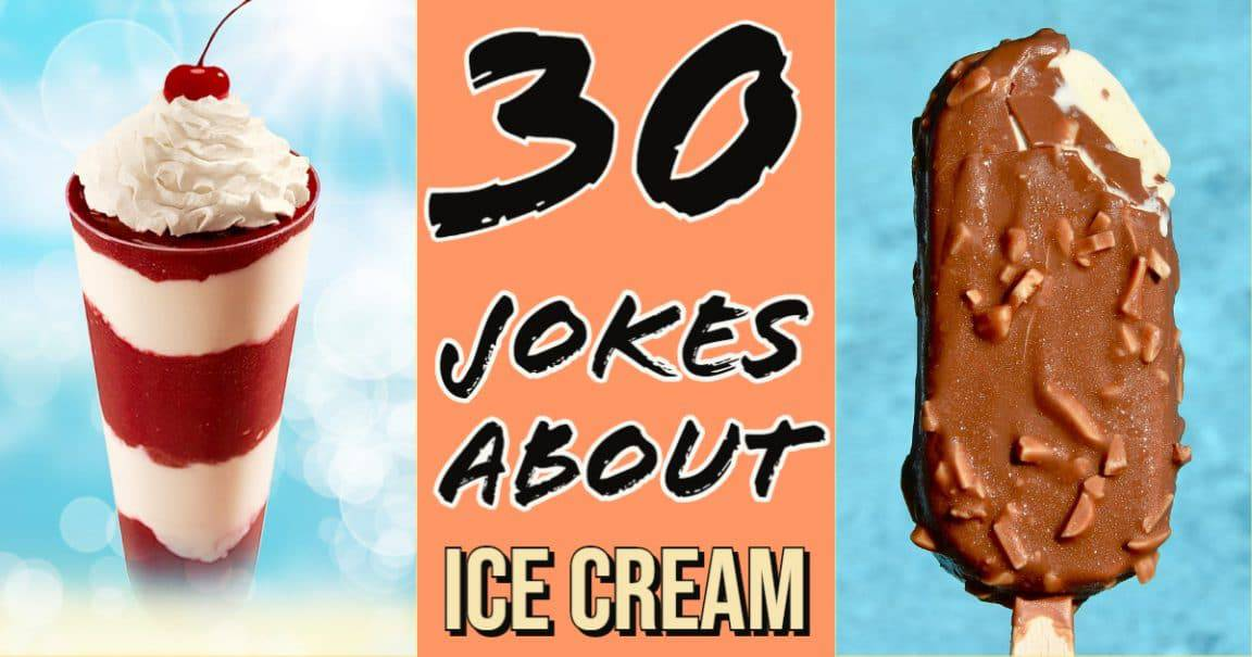 Image to 30 Jokes about ice cream