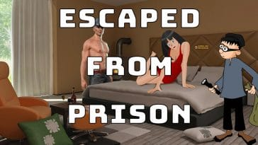 "Image to the joke ""Escaped from prison"""