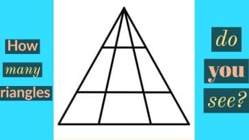 Image to the riddle: How many triangles do you see?