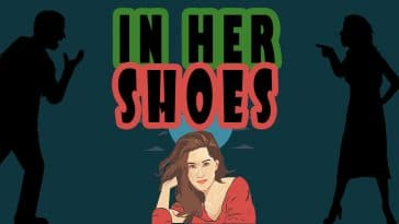"Image for the joke ""In her shoes"""
