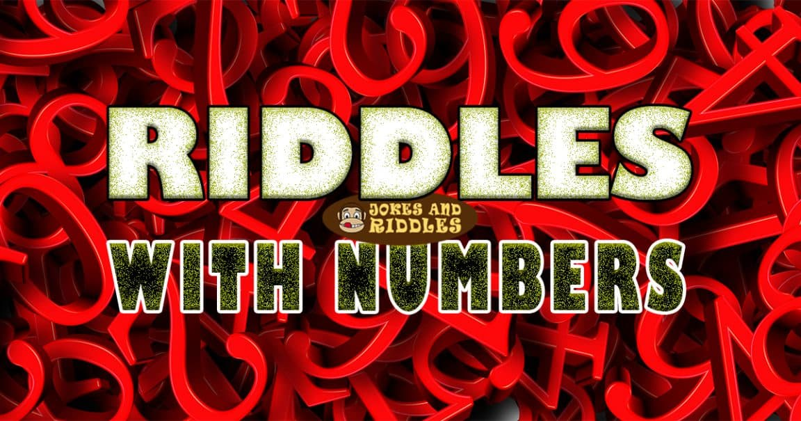 Image to Riddles with numbers
