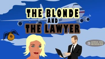 The blonde and the lawyer