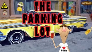 """Image to the joke """"The parking lot"""""""