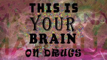 "Image to the joke ""This is your brain on drugs"""