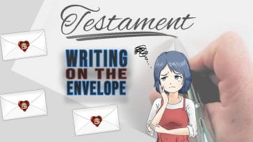 "Image for the riddle ""Writing on the envelope"""