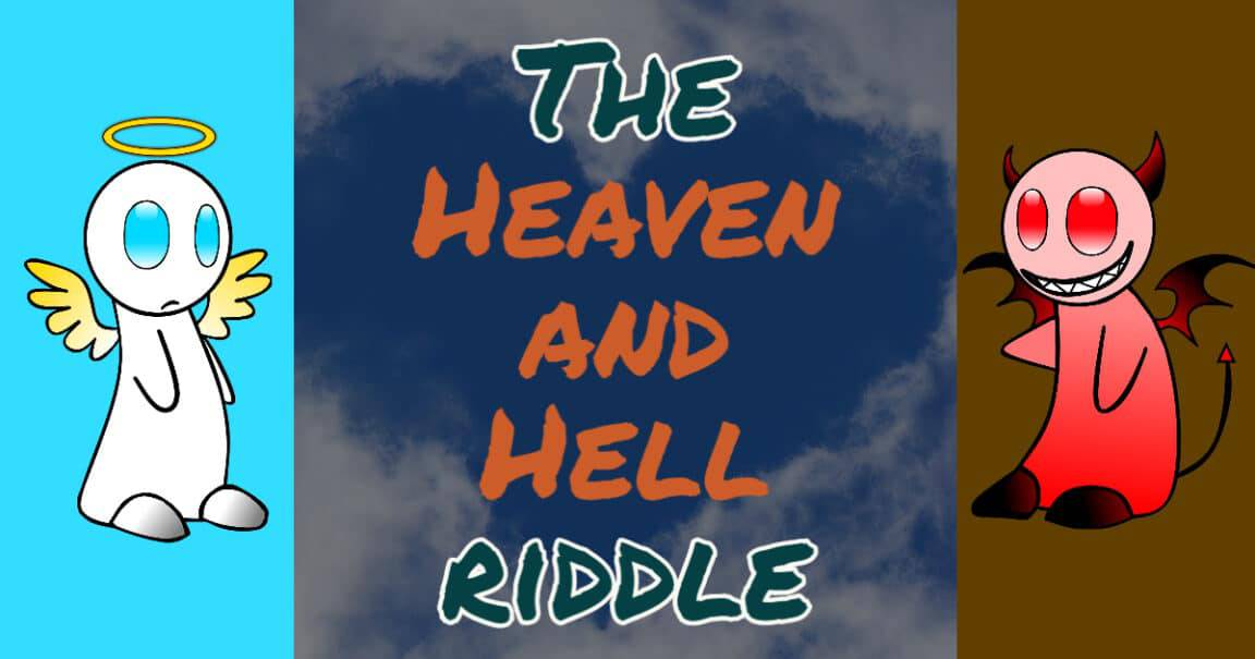 "Image to the ""Heaven and Hell riddle"""