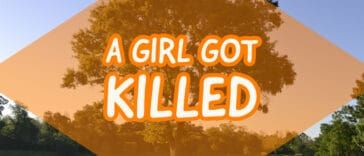 """Image to the riddle """"A girl got killed"""""""