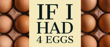 """Image to the riddle """"If I had 4 eggs"""""""