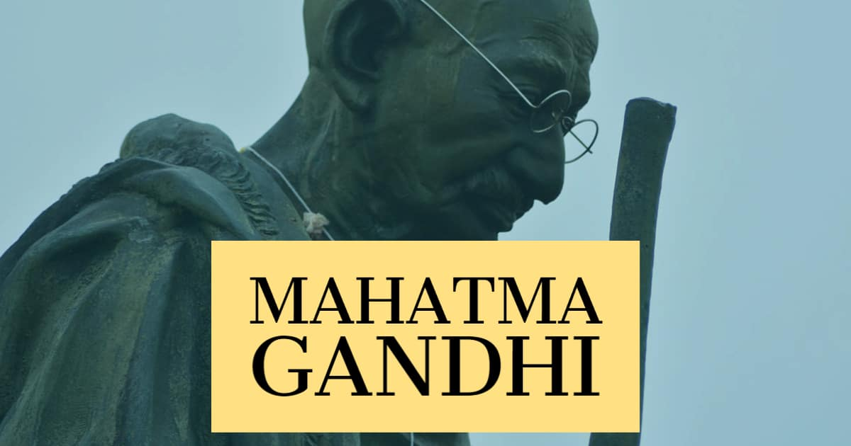 Image to Mahatma Gandhi Quotes, Riddles and Jokes