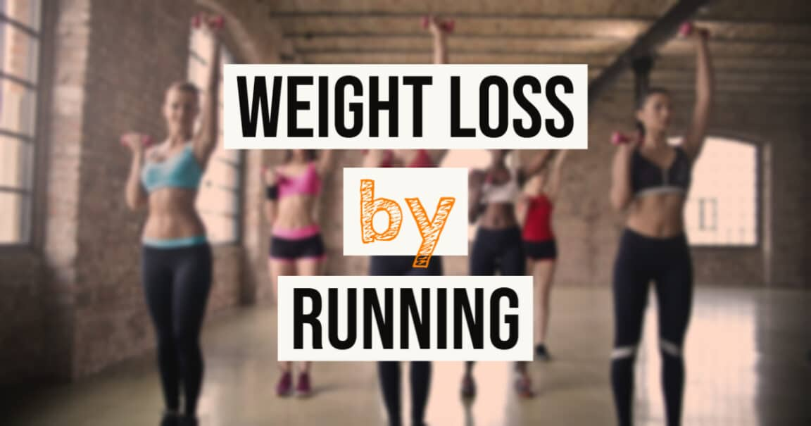 Weight loss by running