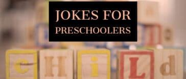 Jokes for Preschoolers